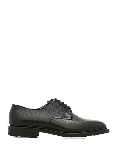 Crocket & Jones %100 Deri Bağcıklı Klasik Ayakkabı Siyah